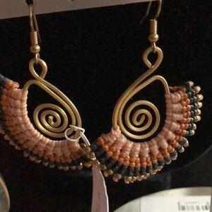 Merx Jewelry - Beaded Earrings
